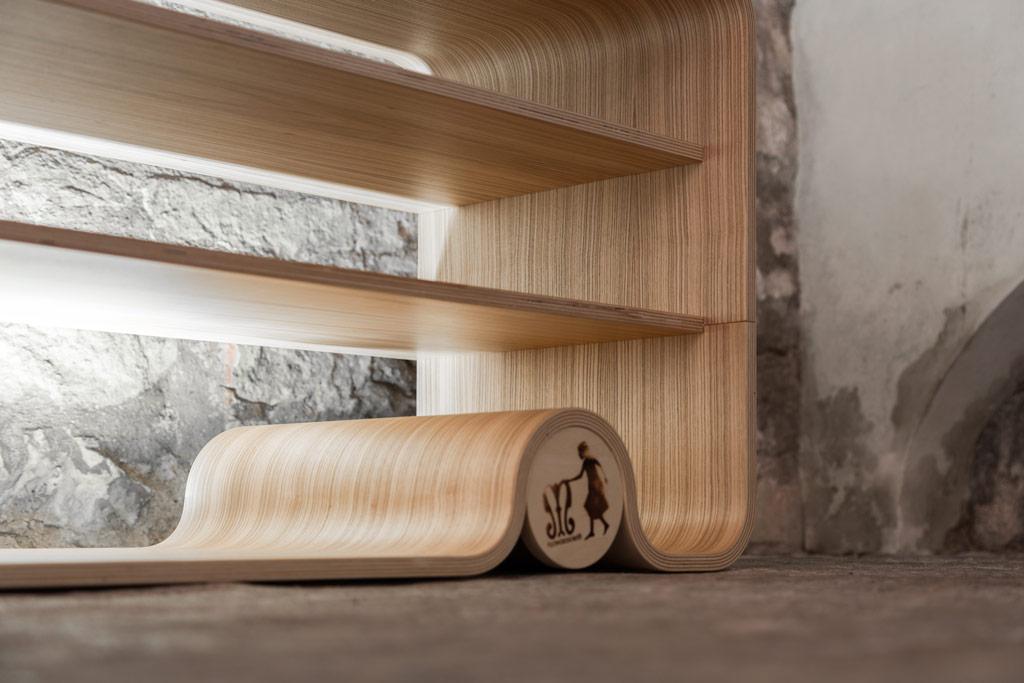 Librerie in puro legno