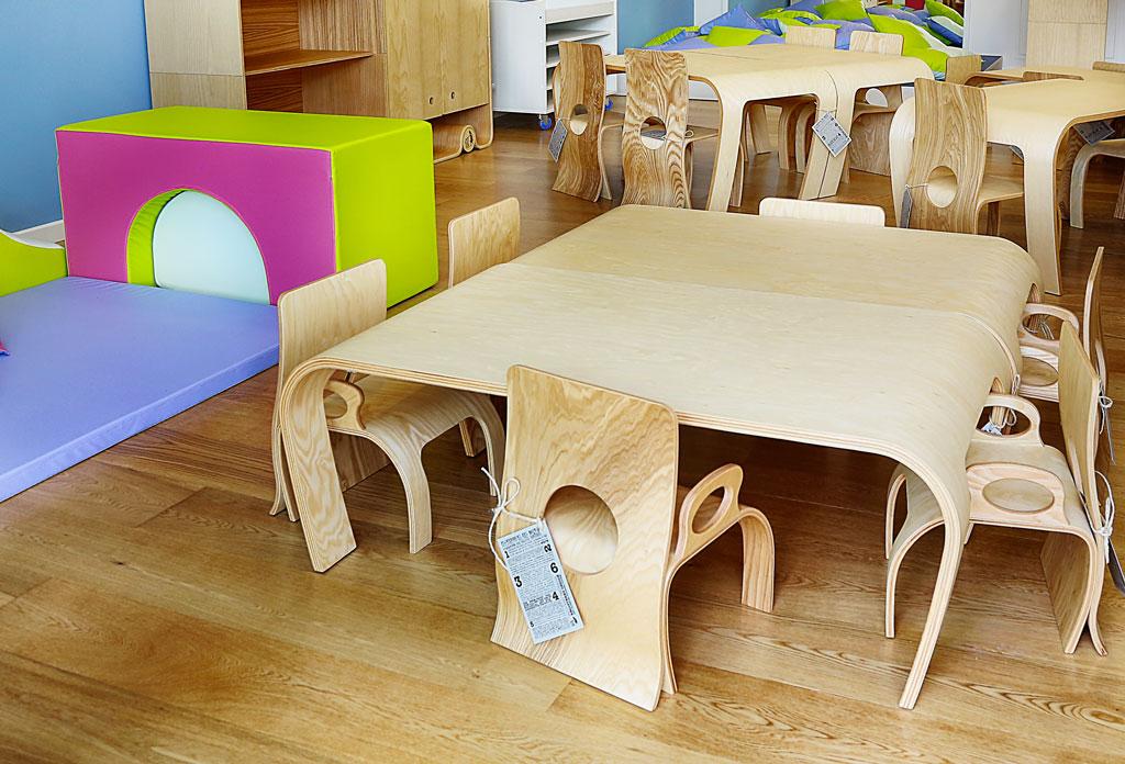 Tavoli in legno Flowerssori