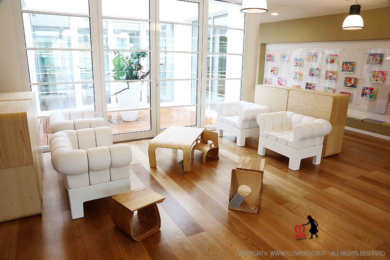 Pre-school of San Frediano a Settimo (Cascina - PI - I). View of the internal spaces.