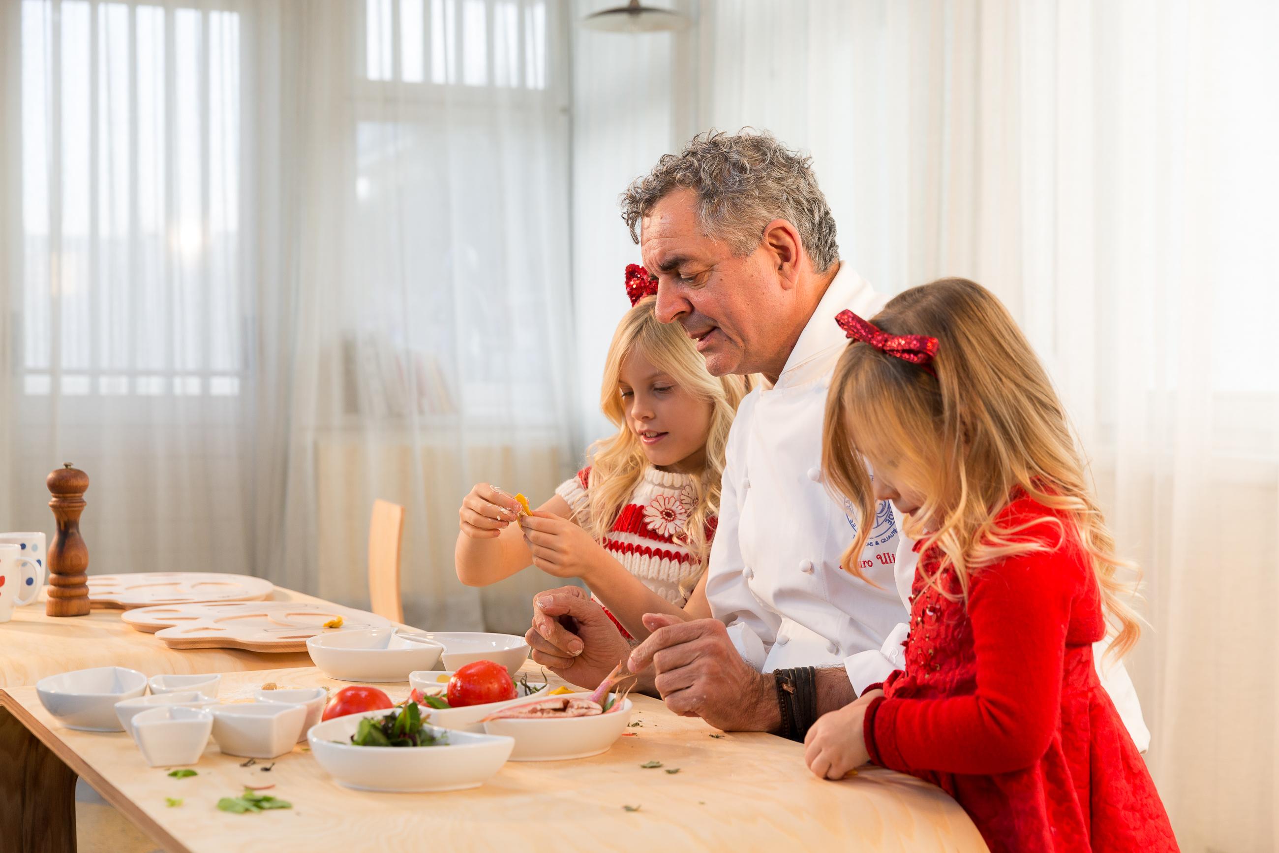 Si cucina con Flowerssori e lo Chef Uliassi