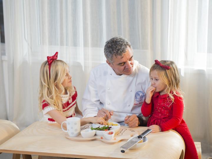 A tavola con il Kit Pappa Flowerssori e lo Chef Uliassi